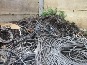 Прием кабеля асб в лом