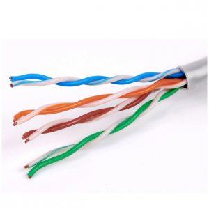 Принимаем кабель utpизделием